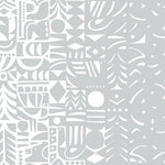 Marimekko Yon Varjo Gray And Off-White Wallpaper