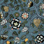 Marimekko Pieni Tiara Sea Green And Dandelion Wallpaper