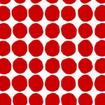 Marimekko Pienet Kivet Scarlet And Eggshell Wallpaper