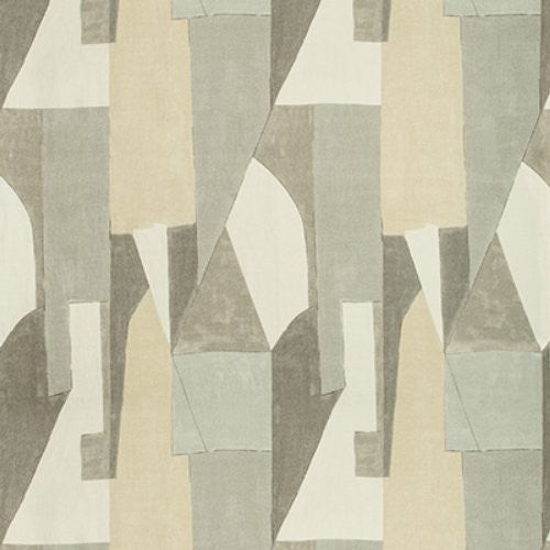 Groundworks District Alabaster Fabric - Fabric