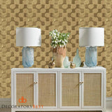 Winfield Thybony Harlow Cafe Au Lait Wallpaper