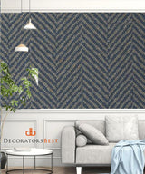 Winfield Thybony Chevron Mariner Wallpaper