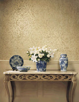 Winfield Thybony Bellisimo Pewter Wallpaper