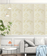 Winfield Thybony Damascus Antique Ivory Wallpaper