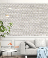Winfield Thybony Panama Oyster Shell Wallpaper