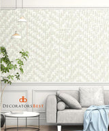 Winfield Thybony Intertwine Pearl Wallpaper