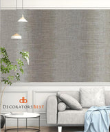 Winfield Thybony Ombre Stripe Moonstone Wallpaper