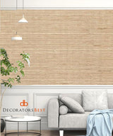 Winfield Thybony Sisal Latte Wallpaper