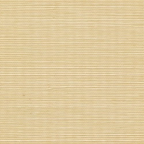 Winfield Thybony Sisal Custard Wallpaper - Wallpaper