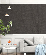 Winfield Thybony Mariano Black Olive Wallpaper