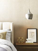 Winfield Thybony Paladino Graphite Wallpaper