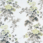 Schumacher Pyne Hollyhock Green Tea Fabric
