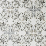 Fabricut 50279W Lorikeet Charcoal-01 Wallpaper
