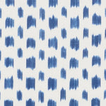 Schumacher Izmir Ikat Blue Fabric
