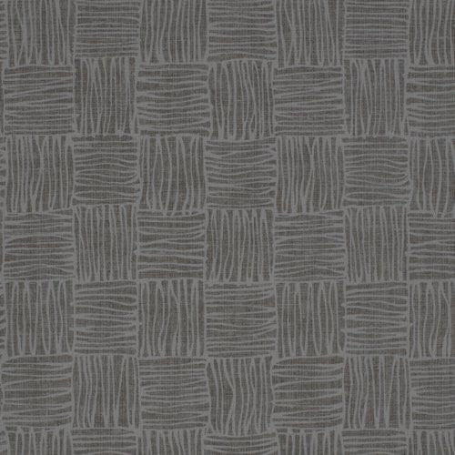 Winfield Thybony Crosshatch Weave Slate Wallpaper - Wallpaper