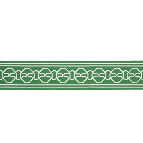 Schumacher Malmaison Tape Green Trim - Trim