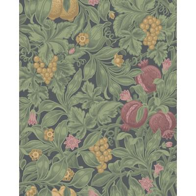 Cole & Son Vines Of Pomona Crim/Oliv Wallpaper - Wallpaper