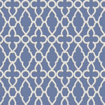 Cole & Son Treillage White/Hyacinth Wallpaper