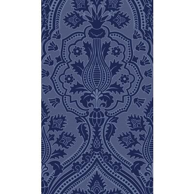 Cole & Son Pugin Palace Flock Hyacin Wallpaper - Wallpaper