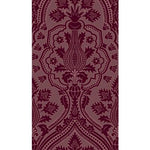 Cole & Son Pugin Palace Flock Claret Wallpaper