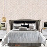 Phillip Jeffries Diamond Weave Ii Beau Beige Wallpaper