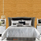 Phillip Jeffries Glam Grass Ii  Refined Gold Wallpaper