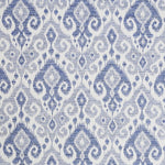 Schumacher Dedra Performance Indigo Fabric