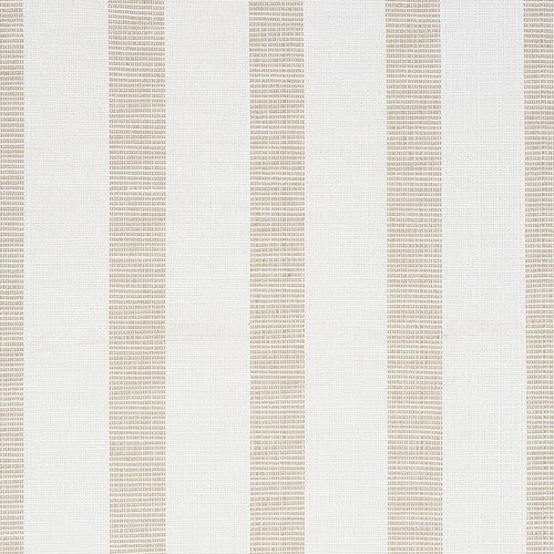 Schumacher Ketley Performance Stripe Natural Fabric - Fabric