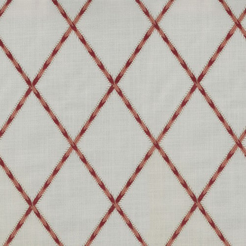 Waverly Trade Winds Emb Coral Fabric - Fabric