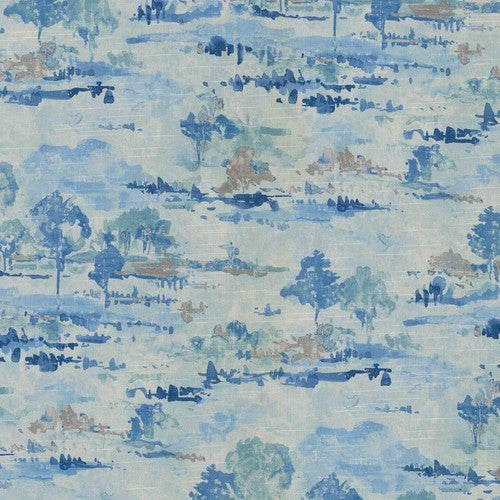 Waverly Imagery Sky Fabric - Fabric