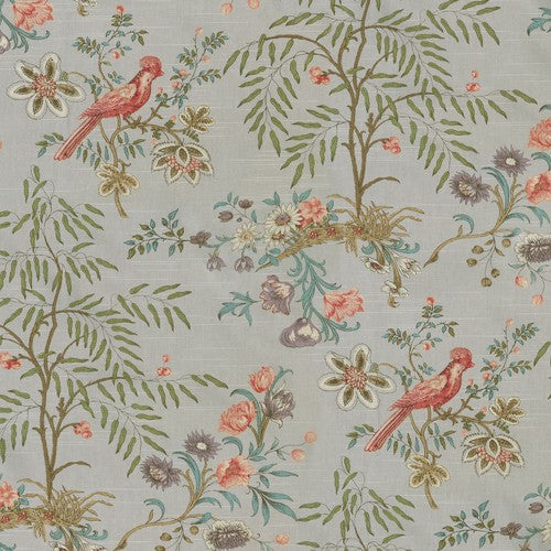 Waverly Above The Treetops Platinum Fabric - Fabric