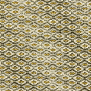 Robert Allen Little Spaces Citron Fabric - Fabric