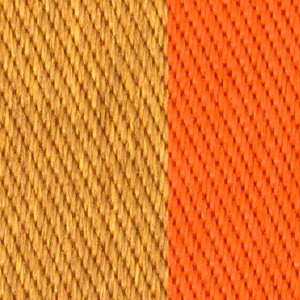 Robert Allen Finish Line Carrot Fabric - Fabric