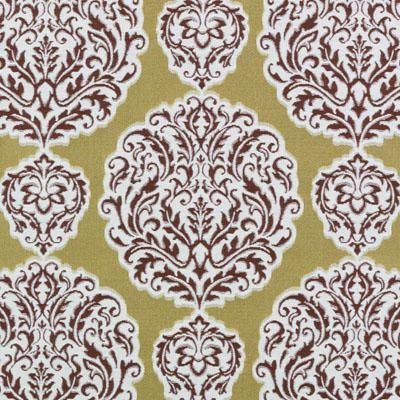 Bailey & Griffin 190244H 69-Gold/Red Fabric - Fabric