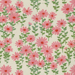 Novogratz Endless Daisies Taffy Fabric