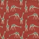 Novogratz Just Giraffes Poppy Fabric