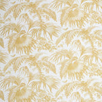 Schumacher Toile Tropique Gold Fabric