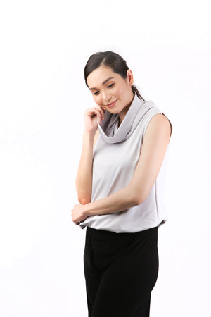 Olivia Cowl Neck Top for Sale | Shop Myka Limchoc