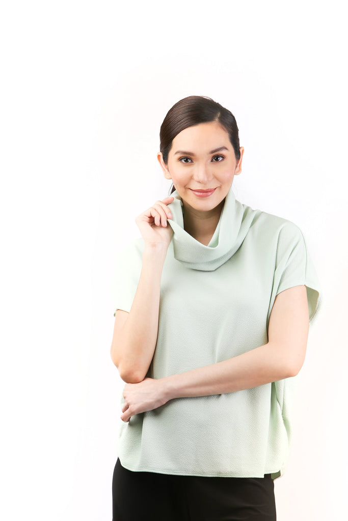 Harlow Cowl Neck Top for Sale | Shop Myka Limchoc