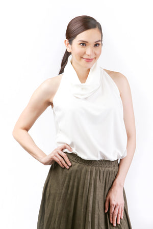 Luna Cowl Neck Top for Sale | Shop Myka Limchoc