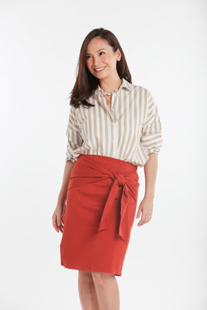 Knot Skirt (knee length)