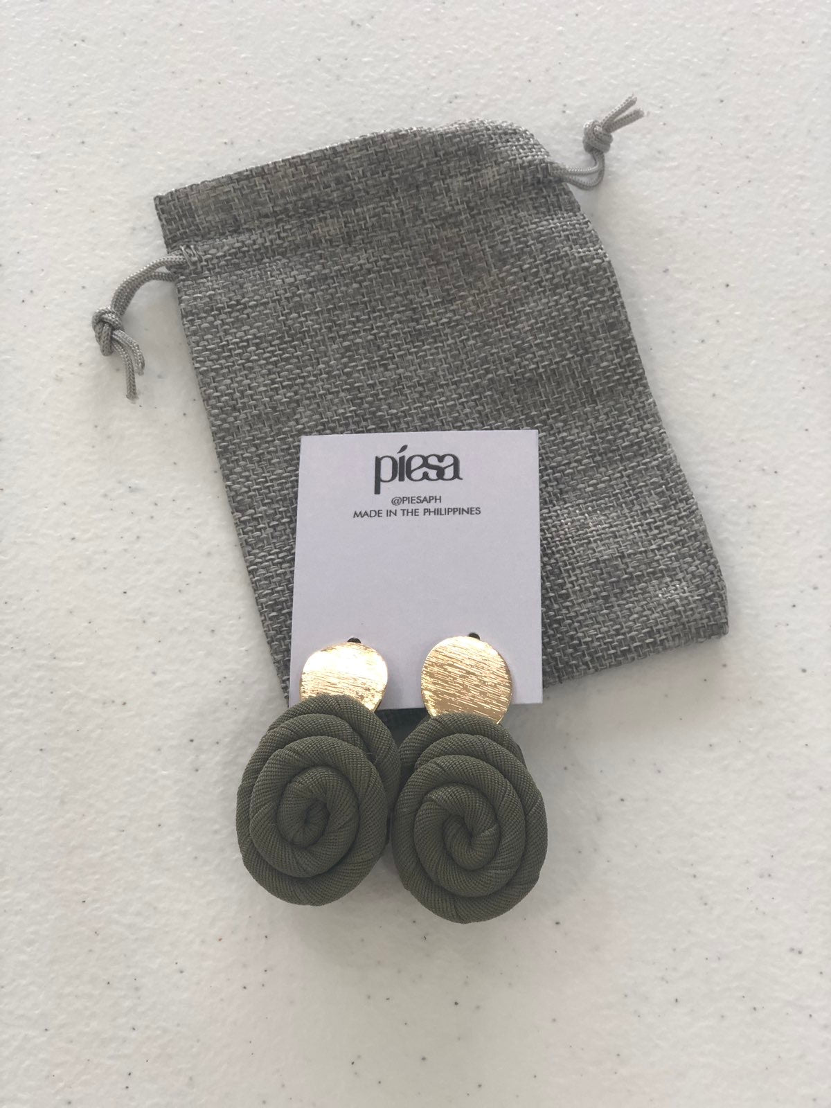 Piesa x ML earrings