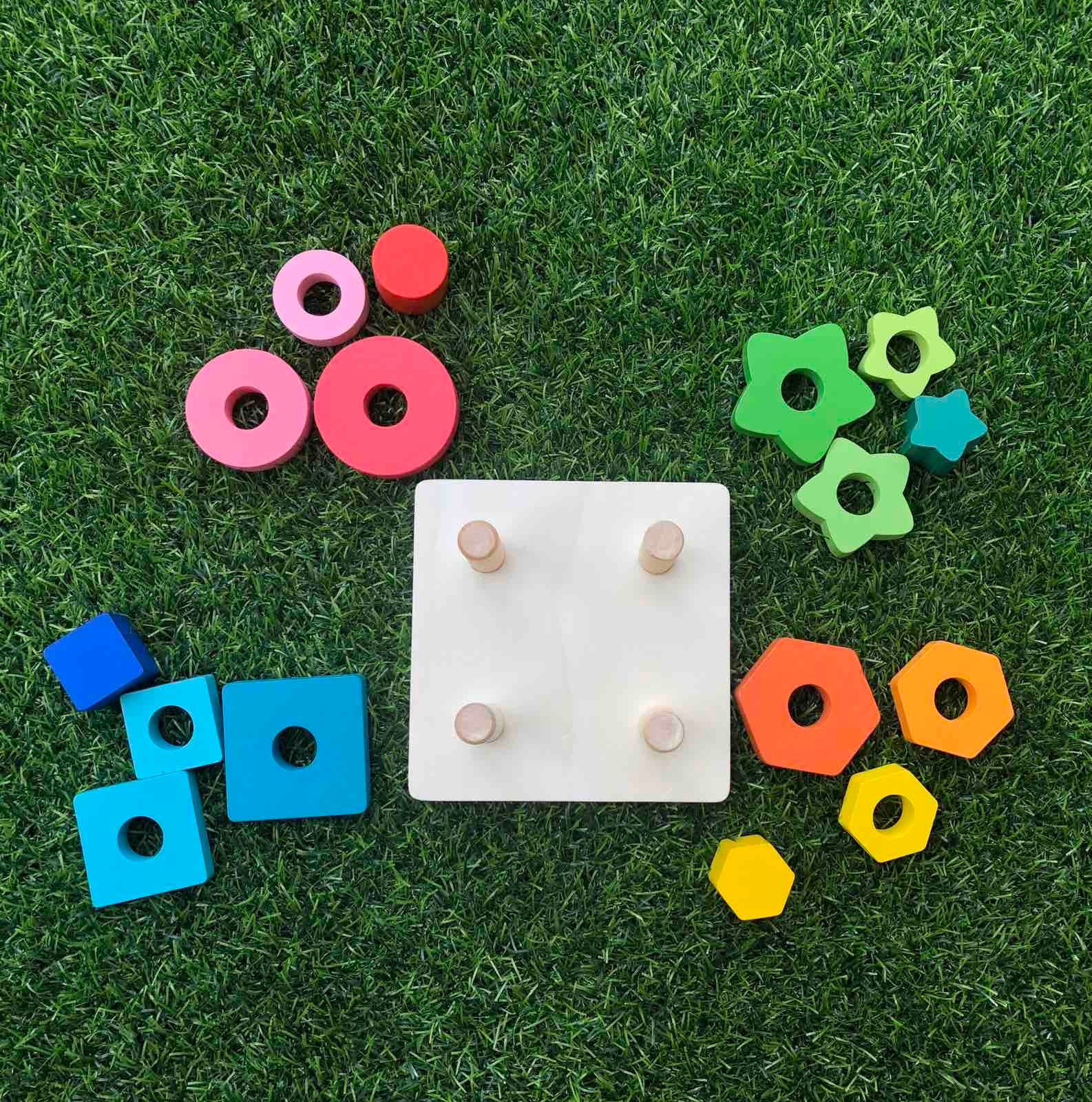 Square Shape Stacker