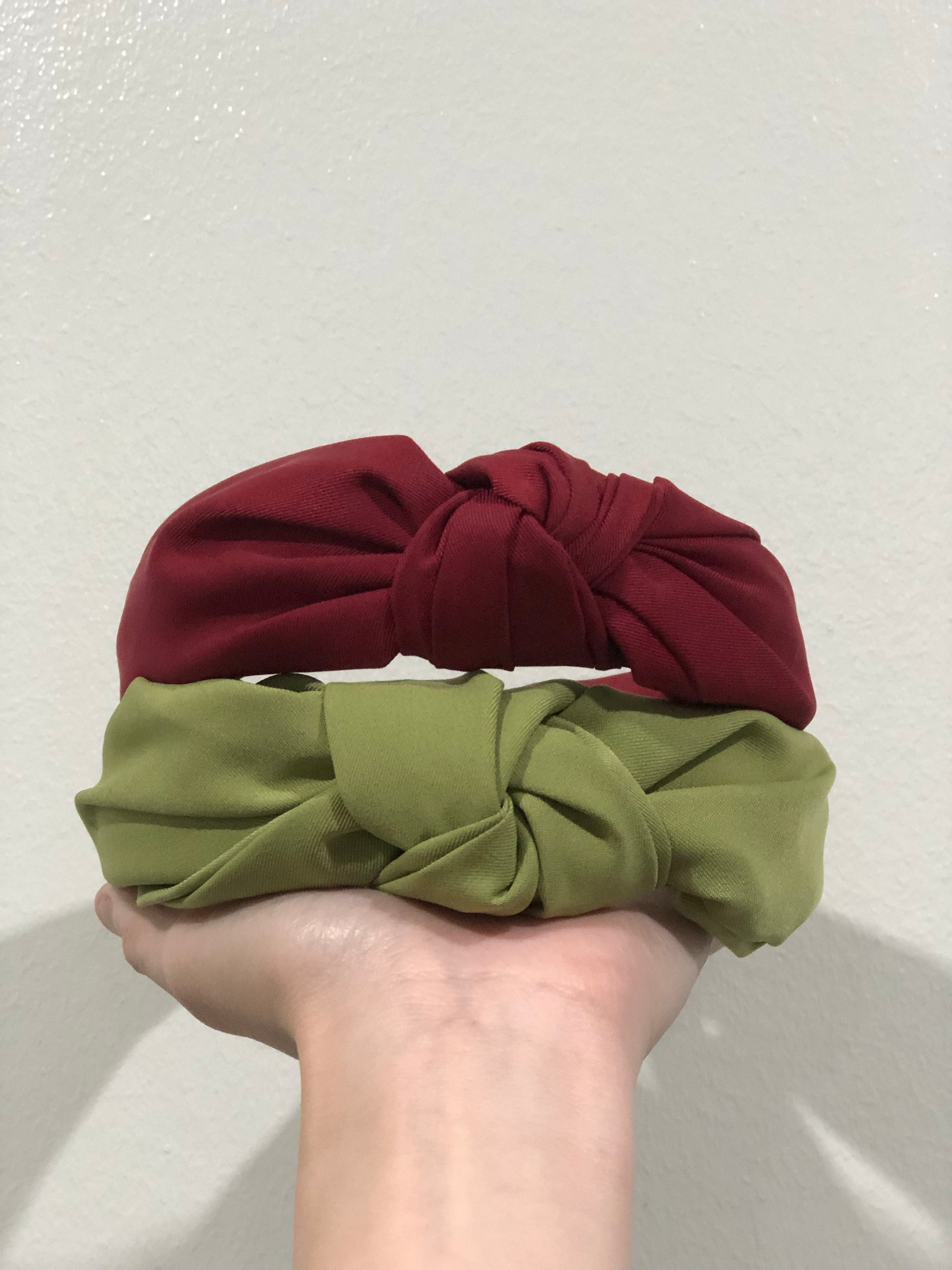Upcycled Knot Headband