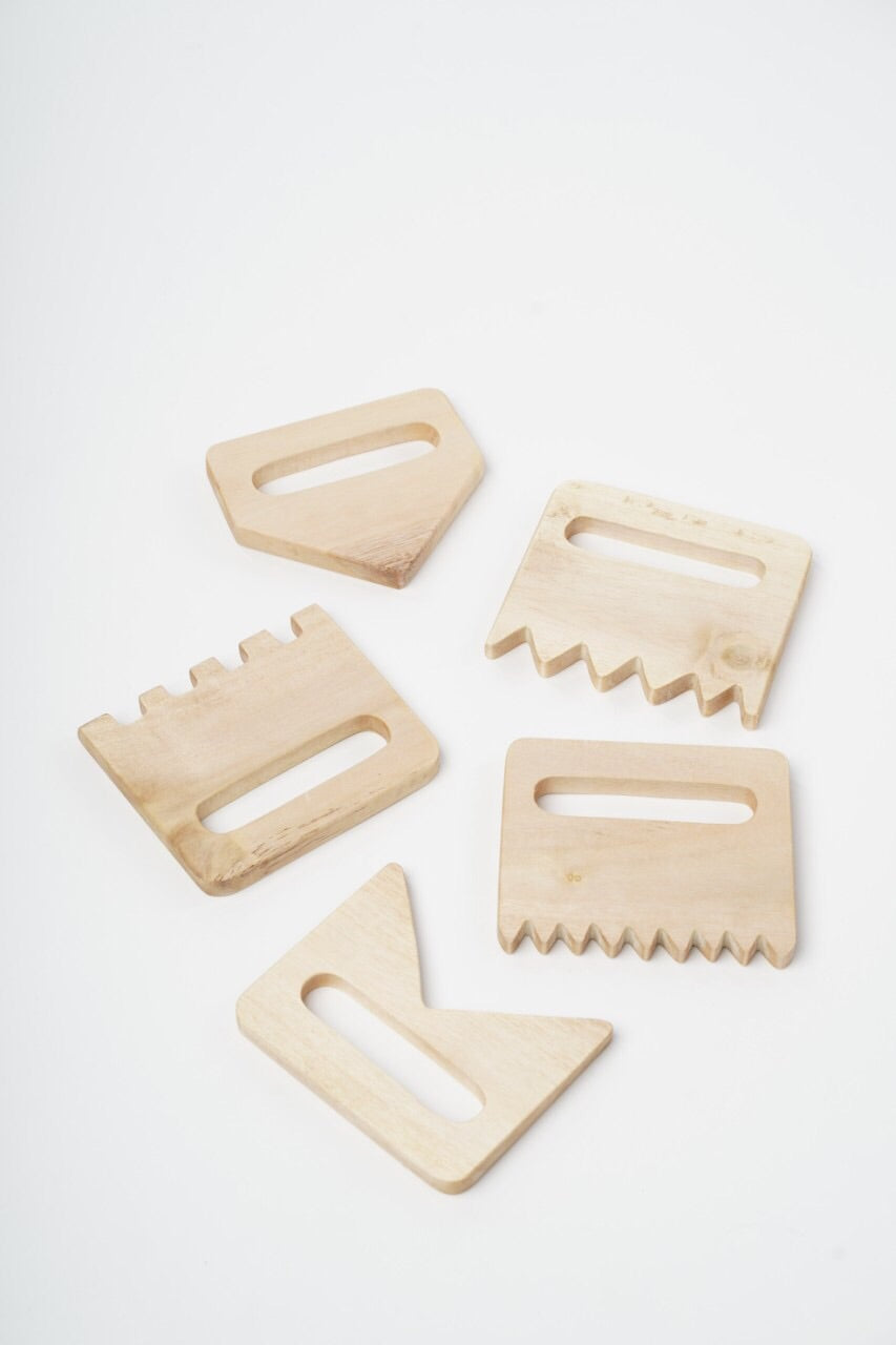Wooden Sand Combs