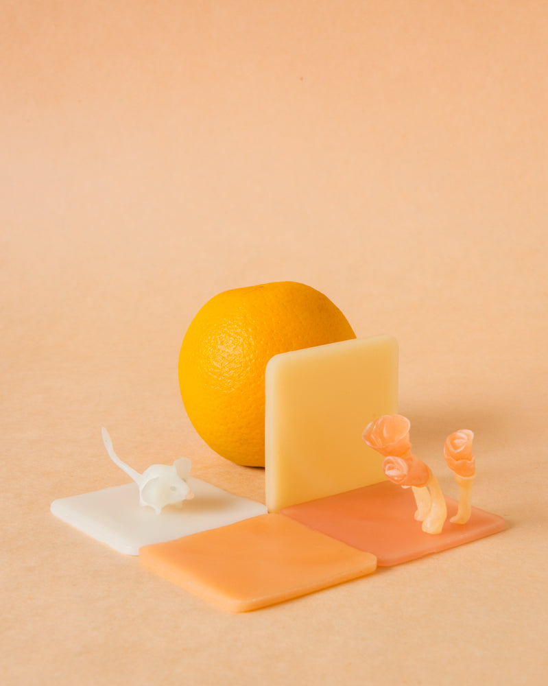 modelling beeswax, open ended waldorf toy organic beeswax toy handmade in india, art materials, 12 pastel colours, mouse
