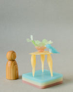modelling beeswax, open ended waldorf toy organic beeswax toy handmade in india, art materials, 12 pastel colours, table