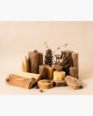 tree blocks nature blocks natural toys wooden toys waldorf toys steiner education loose parts play, open ended toys, natural materials, imaginative play