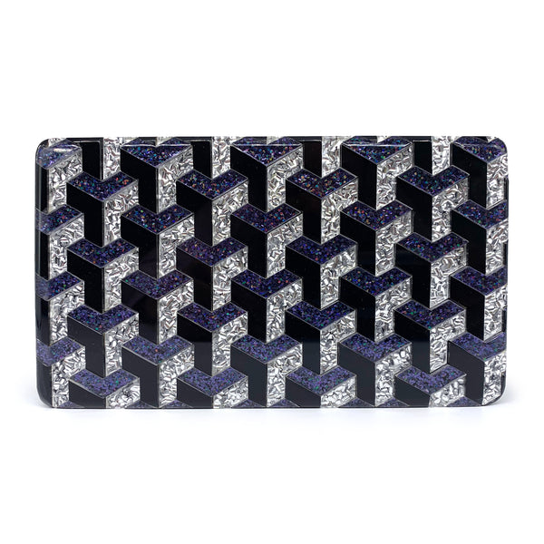 Ideal Minaudiere Clutch - Sparkle