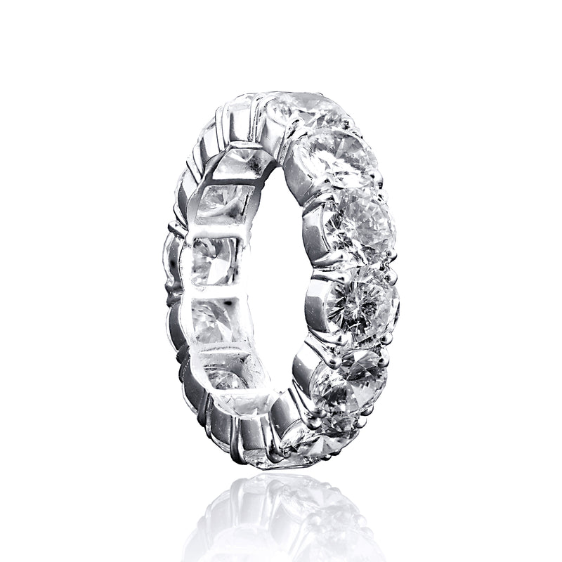 Round Cut Eternity Band Ring – 7 CTW